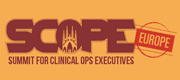 4th Annual Summit for Clinical Ops Executives (SCOPE) Europe 2021